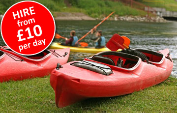 Kayak Hire Preston