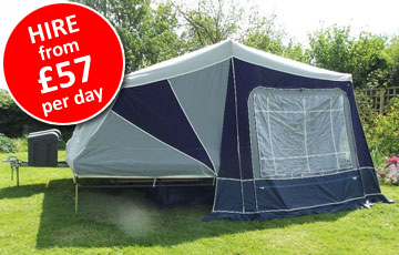 Trailer Tent Hire